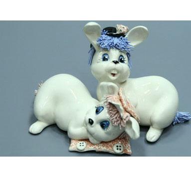 Фигурка «Кролики»