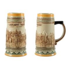 Пивная коллекционная кружка Карловы Вары