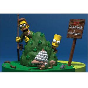 Фигурка Симпсоны: Барт и Флендерс