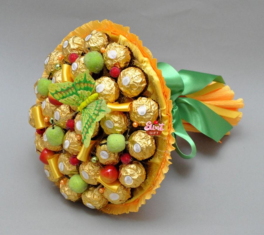 Букет из конфет Осенний карнавал