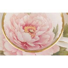 Чайный набор на 6 персон Розовый пион Hangzhou Jinding
