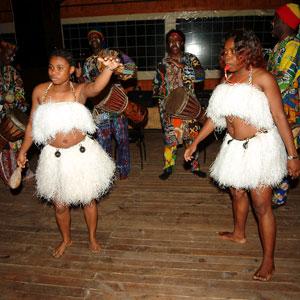 Африканское барабанное шоу