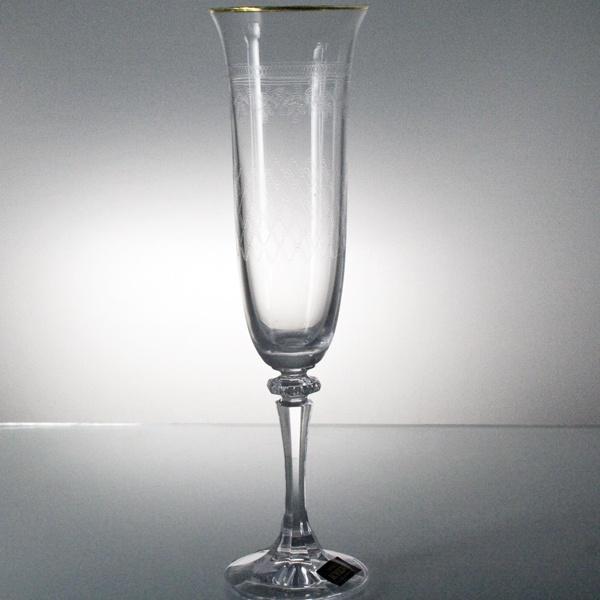 Набор 6 фужеров для шампанского Crystalite Bohemia