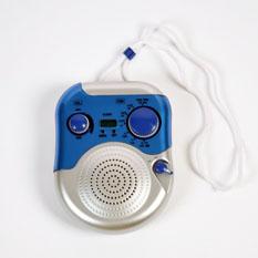 Радио для душа и часы