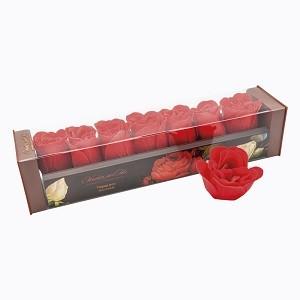 Мыло в форме бутонов розы «Парад алых роз»