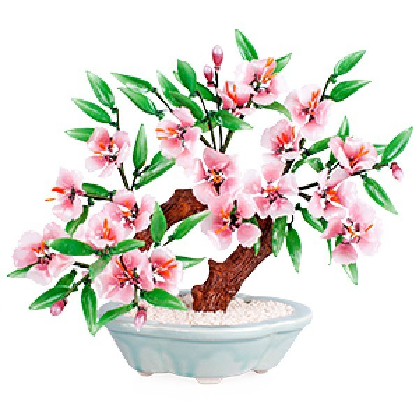 Бонсай (30х27 см) Сакура (дерево счастья)