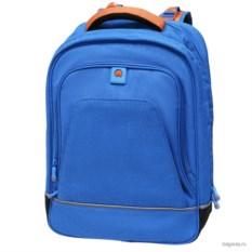 Голубой рюкзак Delsey Back to school