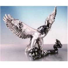 Подарочная статуэтка «Орел со змеей»