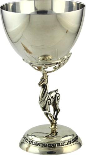 Серебряная рюмка из набора Скифия