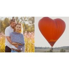 Полёт на воздушном шаре для двоих