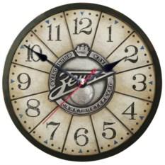 Настенные часы с символикой клуба Зенит