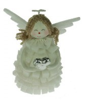 Новогодняя фигурка «Ангелочек»