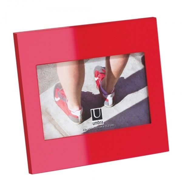Красная фоторамка Simple