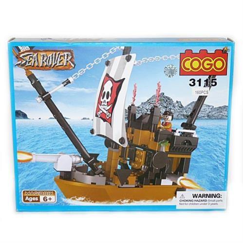 Конструктор Cogo Морские пираты. Корабль