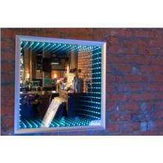 Светодиодное зеркало Infinity Mirror Square Alive System