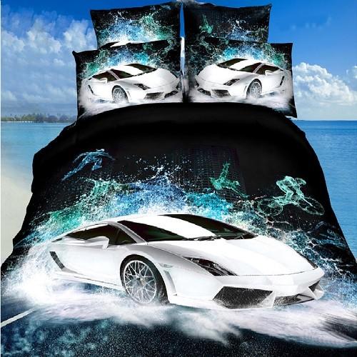 3D-постельное белье На высоких скоростях