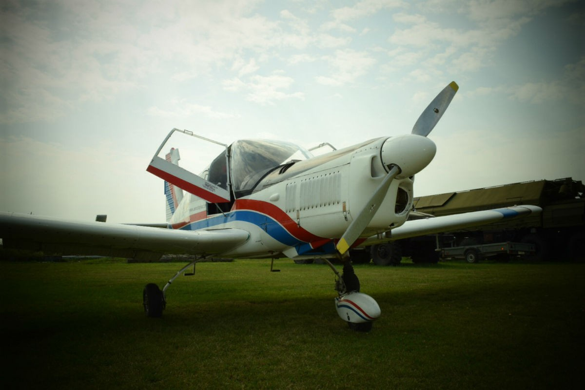 Полет на самолете Zlin
