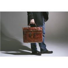 Кожаная сумка-трансформер Brialdi Dudley