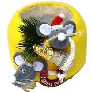 Сыр-подставка под шампанское «С Новым годом!»