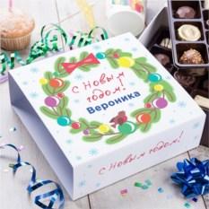 Бельгийский шоколад в подарочной упаковке С Новым годом!