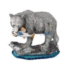 Скульптура Медведь-рыболов