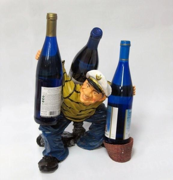 Подставка для бутылок Моряк