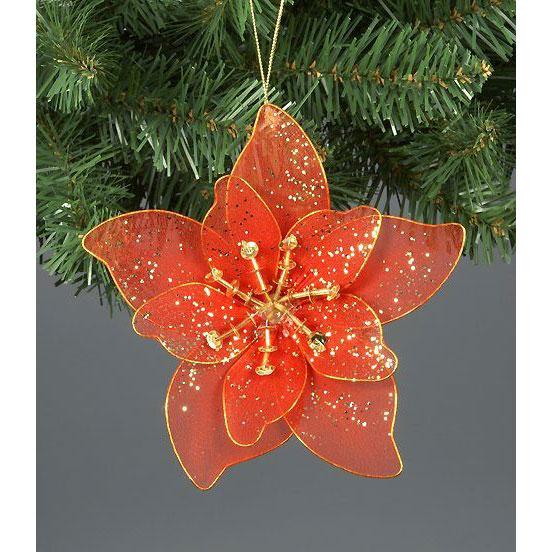 Украшение для елки «Цветок»