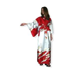 Кимоно Тысячекрылый журавль