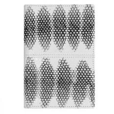 Обложка для паспорта из кожи морской змеи