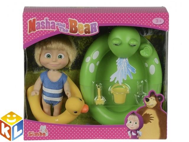 Кукла Маша с бассейном с кругом из м/ф Маша и Медведь