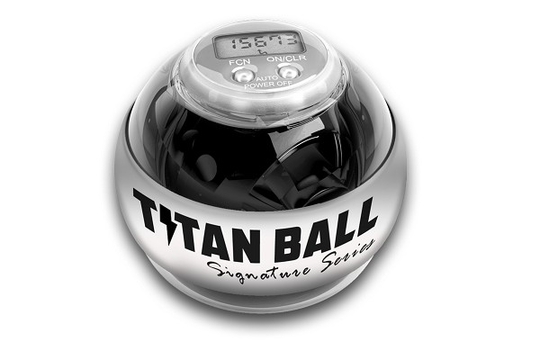 Кистевой тренажер Titan ball со счетчиком и подсветкой