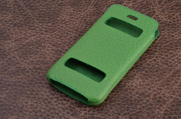 Кожаный чехол для iPhone 5 / 5S «Летний Таранто»