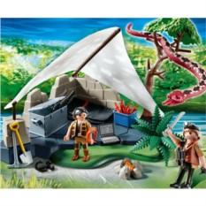 Конструктор Динозавры. Лагерь искателей сокровищ
