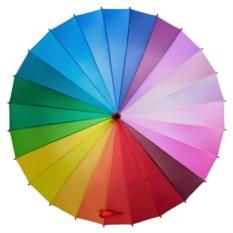 Цветной зонт-трость «Спектр»