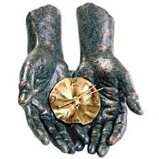 Часы настольные «Хранитель времени»