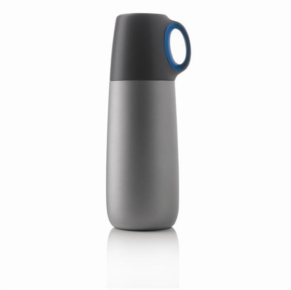 Термос Bopp Hot 600 мл синий/серый