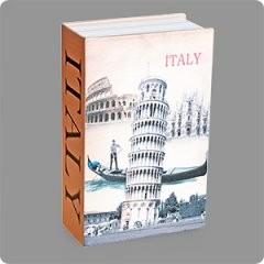 Книга-сейф Пизанская башня средняя