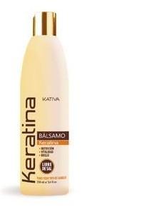 Укрепляющий бальзам-кондиционер с кератином для всех типов волос, Kativa