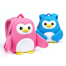 Голубой детский рюкзак Nohoo «Пингви»