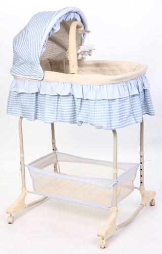 Кровать-люлька Leader Kids YS301, цвет: голубой