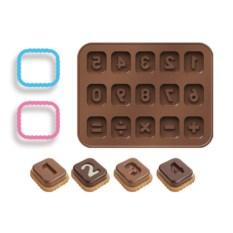 Формочки для шоколада Tescoma «Числа»