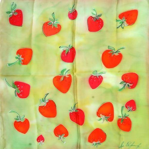 Шейный платок  Ягодка