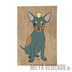 Обложка для паспорта Той в короне