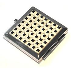 Зеркало квадратное Черные квадраты