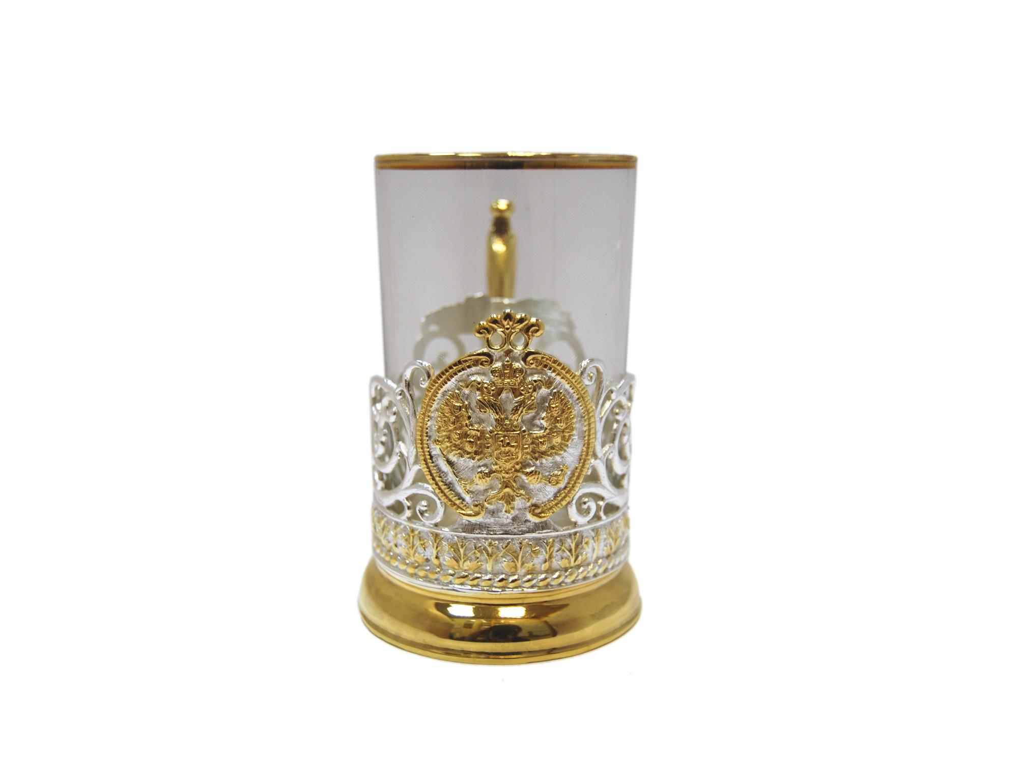 Подарочный подстаканник для чая Империя