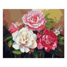 Картины по номерам «Восхитительные пионы»