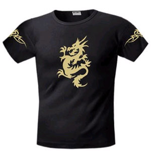 Футболка FREEdom Золотой дракон