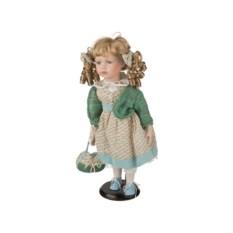 Фарфоровая коллекционная кукла, высота 40 см