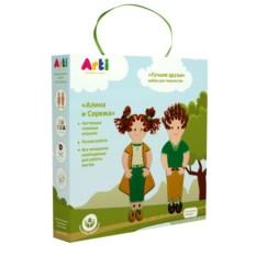 Детский набор для творчества «Лучшие друзья Алина и Серёжа»