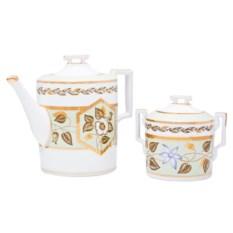 Чайный сервиз на 6 персон Нефритовый фон (20 предметов)
